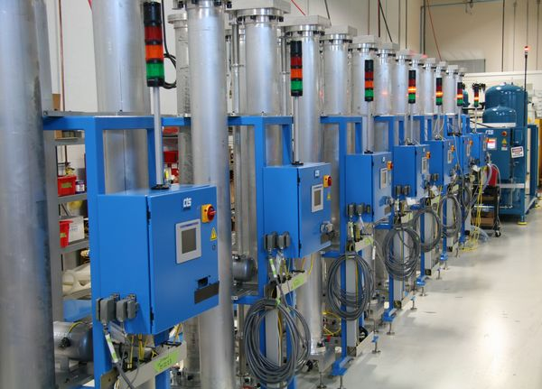 Tracer Gas Recovery Systems