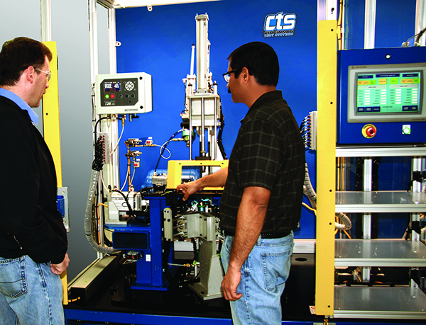 Factory and On-site CTS Customer Training